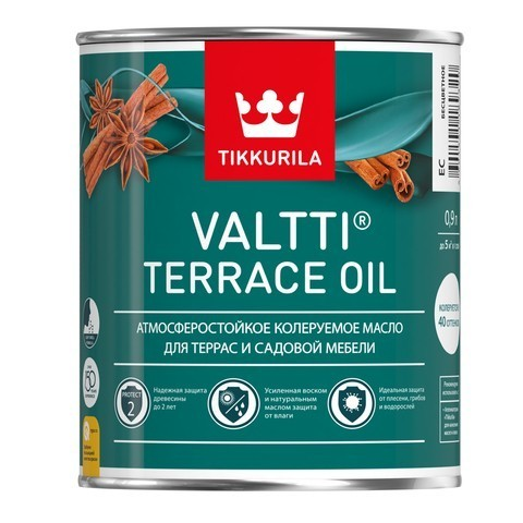 Масло для террас Тиккурила Валтти Террас Ойл  Tikkurila Valti Terrace oil