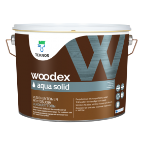 Антисептик Текнос Вудекс Аква Солид Teknos Woodex Aqua Solid